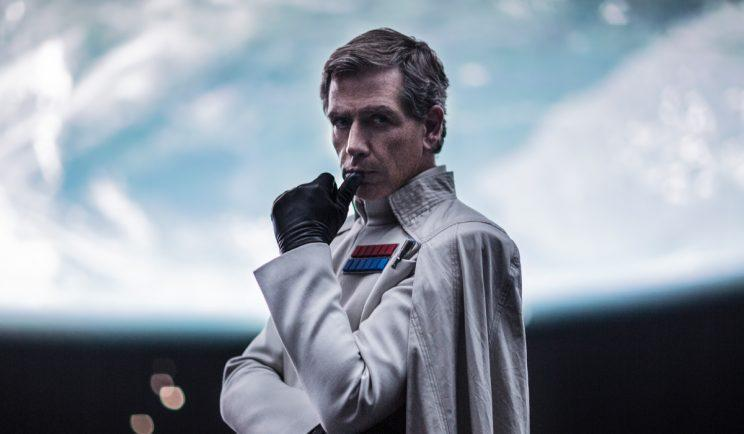 Ben Mendelsohn as Director Krennic in Star Wars: Rogue One - Credit: Lucasfilm