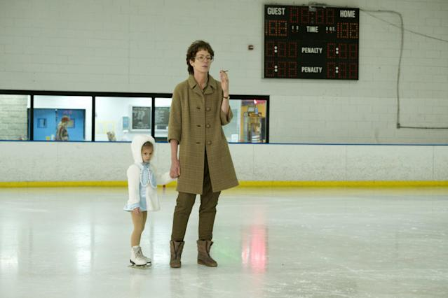 <strong>The film shows LaVona taking Tonya to the rink at a very young age</strong> (Moviestore Collection/REX/Shutterstock)