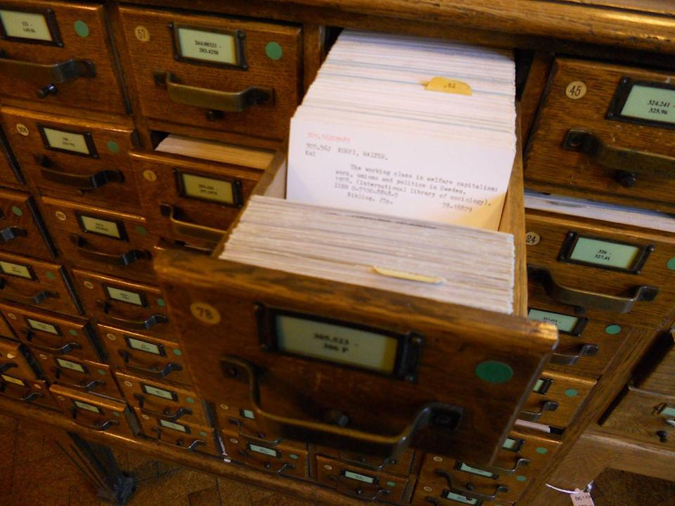 <p>Doing anything manually just sounds like a lot of work, especially sifting through drawers and drawers of cards to find the book you needed from the library. We kid, it wasn't that bad — but it was a lot more time consuming than today's computerized method.</p>