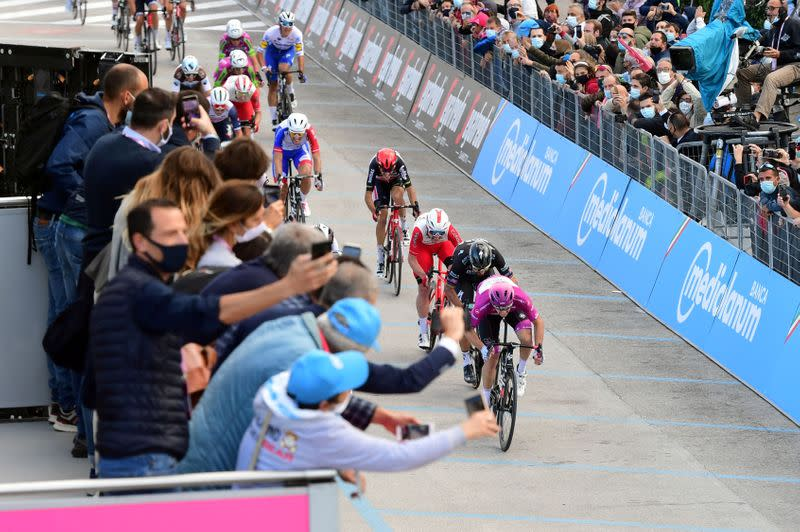 Cycling: Giro director furious as stage shortened following protest