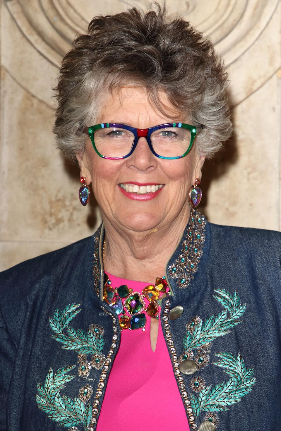 Prue Leith attends the English National Ballet's Cinderella - Opening Night - at the Royal Albert Hall, Kensington, London. (Photo by Keith Mayhew/SOPA Images/LightRocket via Getty Images)