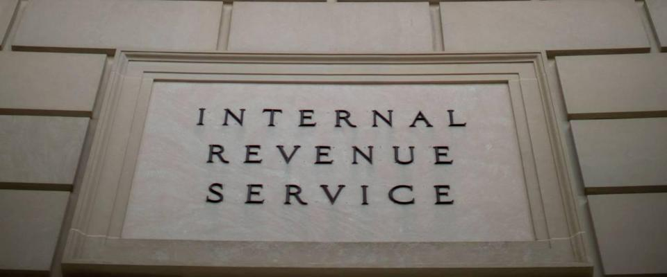 IRS building with sign close cropped
