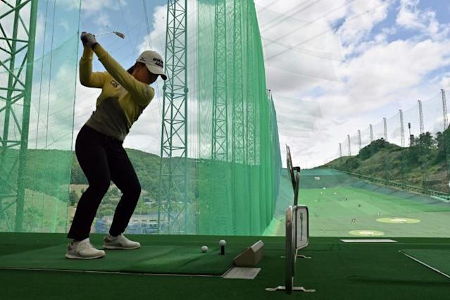 Kim Sei-young is one of eight South Korean in the world top 20 (AFP Photo/Jung Yeon-je)