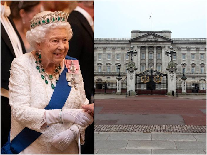 queen elizabeth, BP