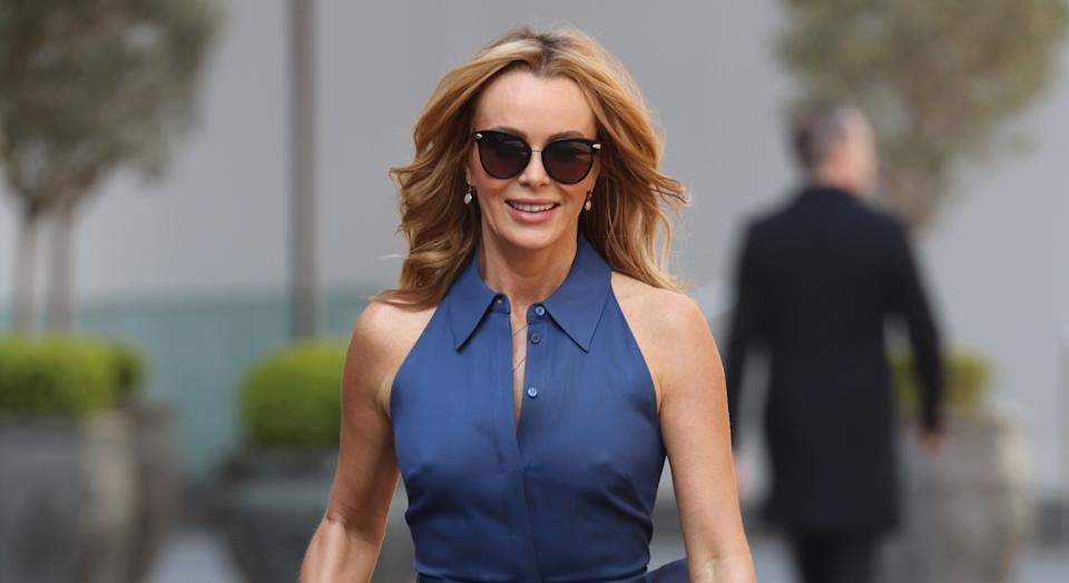 Amanda Holden read out the UK's verdict on last night's Eurovision Song Contest. (Getty Images)