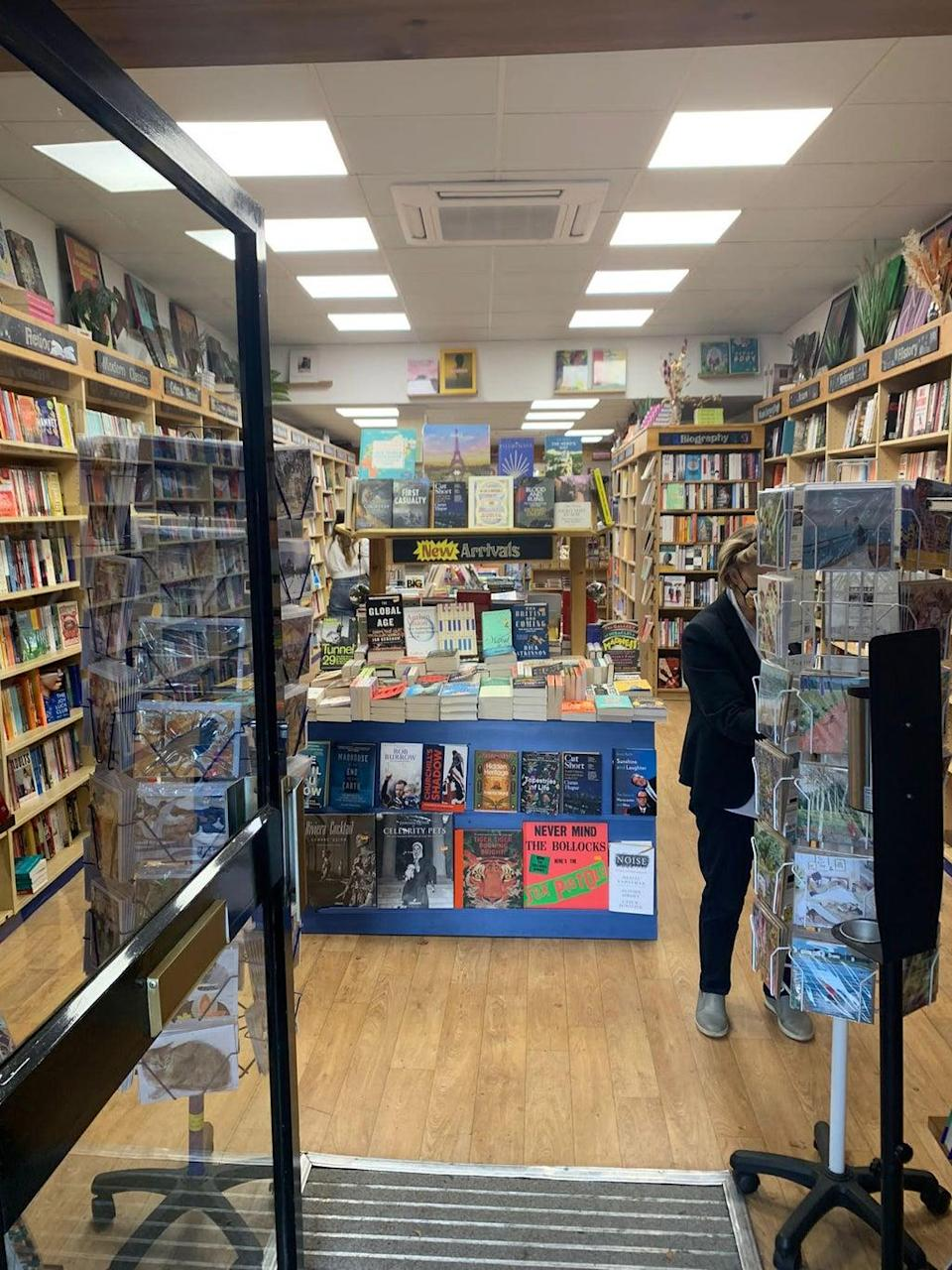 One of the businesses seeing people come in to spend vouchers is independent bookshop Bookcase, which has been in operation in Chiswick since 1993  (Bookcase)