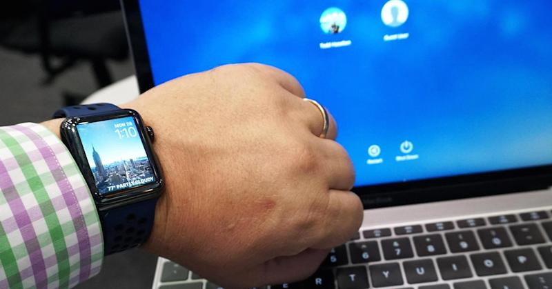 how to unlock your computer with apple watch