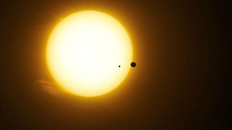 Astronomers Find What May Be First Exomoon-And It's an Absolute Unit