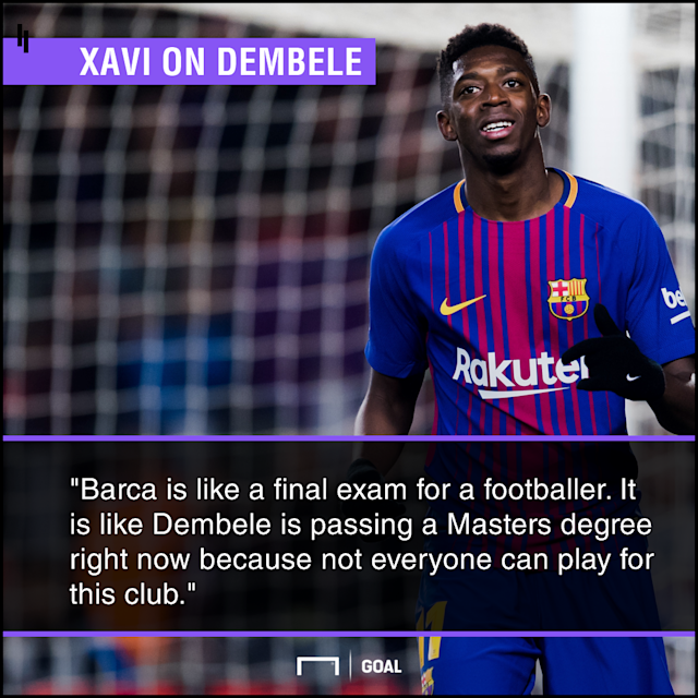 A former favourite at Camp Nou admits that the big-money signing still has plenty to prove, with it up to him to show that he can handle the pressure