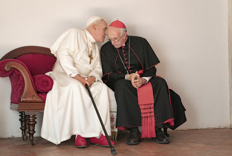 """""""The Two Popes"""" received plenty of rave reviews at Toronto International Film Festival."""