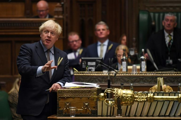 Brexit: le texte controversé de Boris Johnson franchit un premier obstacle au Parlement