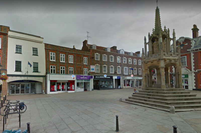 The town of Leighton Buzzard in Bedfordshire was the epicentre of an earthquake on Tuesday. (Google)