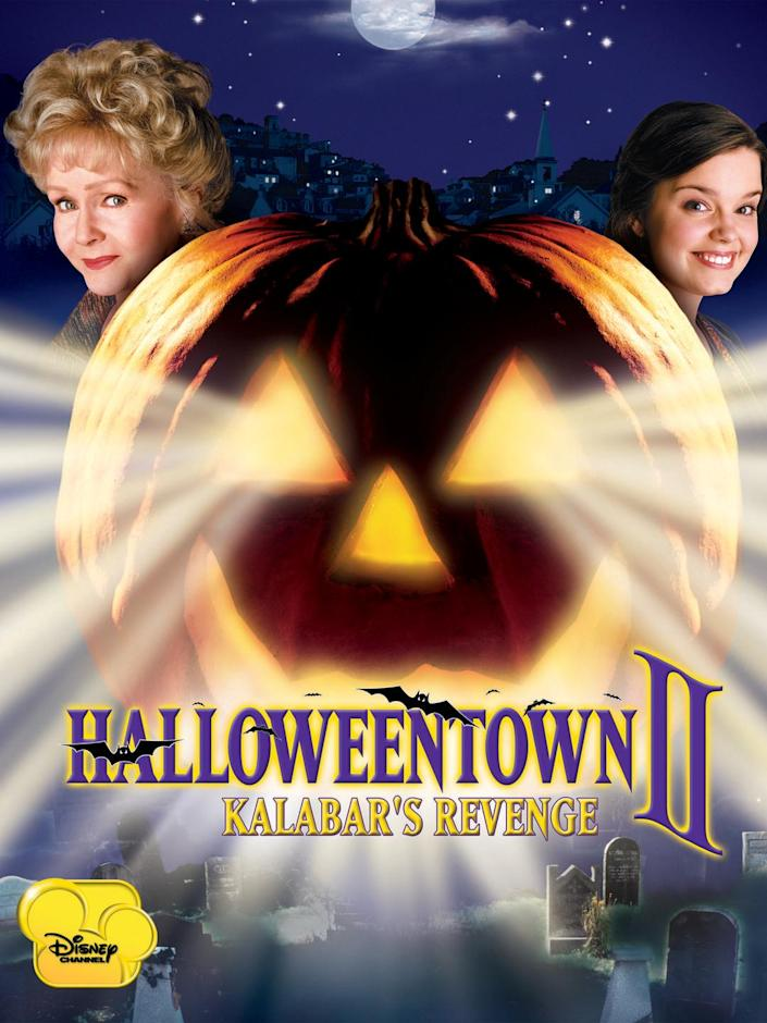 """<p><a class=""""link rapid-noclick-resp"""" href=""""https://go.redirectingat.com?id=74968X1596630&url=https%3A%2F%2Fwww.disneyplus.com%2Fmovies%2Fhalloweentown-ii-kalabars-revenge%2F1O2eUxzxgeXv&sref=https%3A%2F%2Fwww.womansday.com%2Flife%2Fg3104%2Fkids-halloween-movies%2F"""" rel=""""nofollow noopener"""" target=""""_blank"""" data-ylk=""""slk:STREAM ON DISNEY+"""">STREAM ON DISNEY+</a></p><p>When Halloweentown appears to be losing all of its magic, Marnie Piper and her siblings must team up to save it from an evil curse.</p>"""