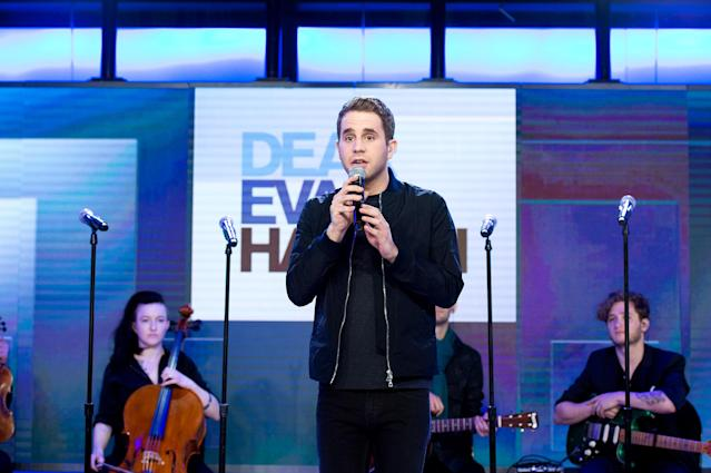 <p><i>Dear Evan Hansen</i> will beat the Bette Midler revival of <i>Hello, Dolly!</i> <i>Dear Evan Hansen</i> won six Tony Awards in June, including Best Musical and Best Performance by a Lead Actor in a Musical for Ben Platt. (Photo: Nathan Congleton/NBC/NBCU Photo Bank via Getty Images) </p>