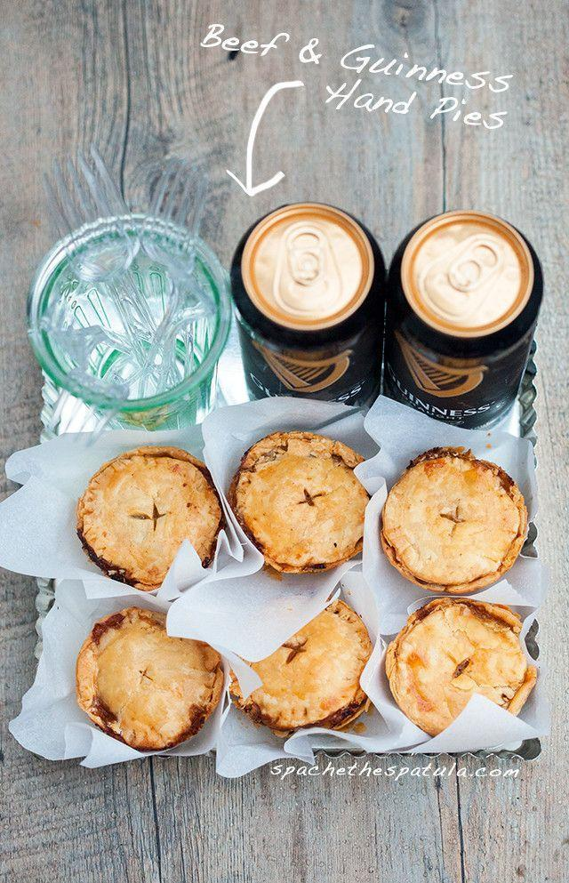 """<p>Hand pies mean you get one for each hand, right? If pie crust scares you, you can totally go store-bought for this recipe. </p><p><a href=""""http://www.spachethespatula.com/beef-and-guinness-hand-pies/#_a5y_p=3512709"""" rel=""""nofollow noopener"""" target=""""_blank"""" data-ylk=""""slk:Get the recipe from Spache the Spatula »"""" class=""""link rapid-noclick-resp""""><em>Get the recipe from Spache the Spatula »</em></a><br></p>"""
