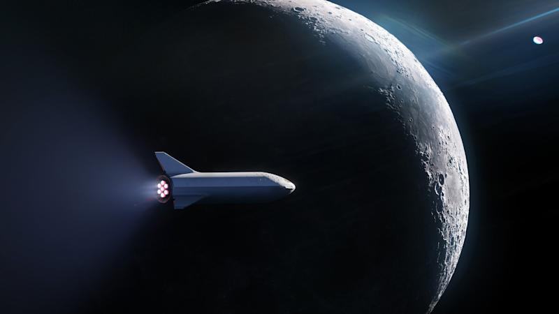 Image result for SpaceX's trip to the moon can be fatal for passengers