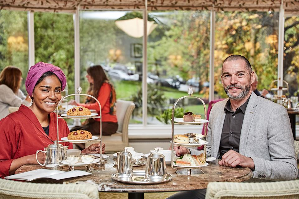 Remarkable Places to Eat with Nadiya Hussain and Fred Sirieix. (BBC/Outline Productions)