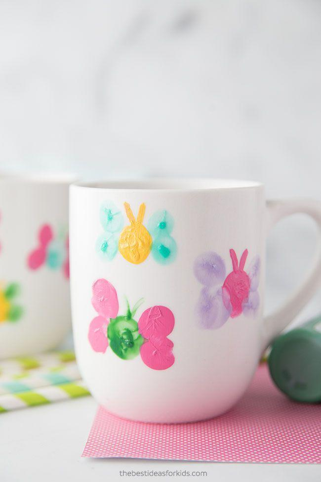 "<p>Melt mom — or grandma's — heart with a mug decorated with her little one's fingerprints. That means you can even get your kids involved in this craft. </p><p><strong><a class=""link rapid-noclick-resp"" href=""https://www.amazon.com/Coffee-Large-sized-Ceramic-Restaurant-Bruntmor/dp/B072FTVD1G?tag=syn-yahoo-20&ascsubtag=%5Bartid%7C10055.g.2412%5Bsrc%7Cyahoo-us"" rel=""nofollow noopener"" target=""_blank"" data-ylk=""slk:SHOP WHITE MUGS"">SHOP WHITE MUGS</a></strong></p><p><em><a href=""https://www.thebestideasforkids.com/mug-painting/?"" rel=""nofollow noopener"" target=""_blank"" data-ylk=""slk:Get the tutorial at The Best Ideas for Kids »"" class=""link rapid-noclick-resp"">Get the tutorial at The Best Ideas for Kids »</a></em> </p>"