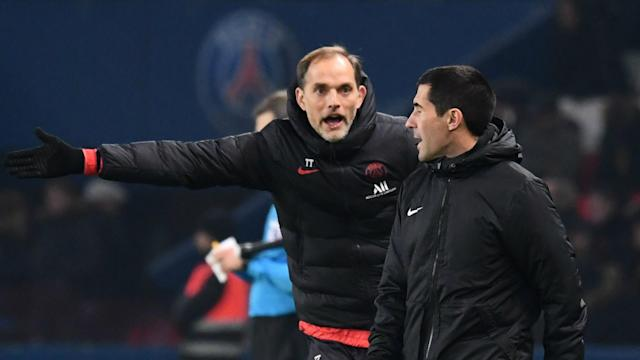 """The German coach admitted the Ligue 1 leaders did not """"play free"""" in their 2-0 victory over Nantes, suggesting his players lack confidence"""