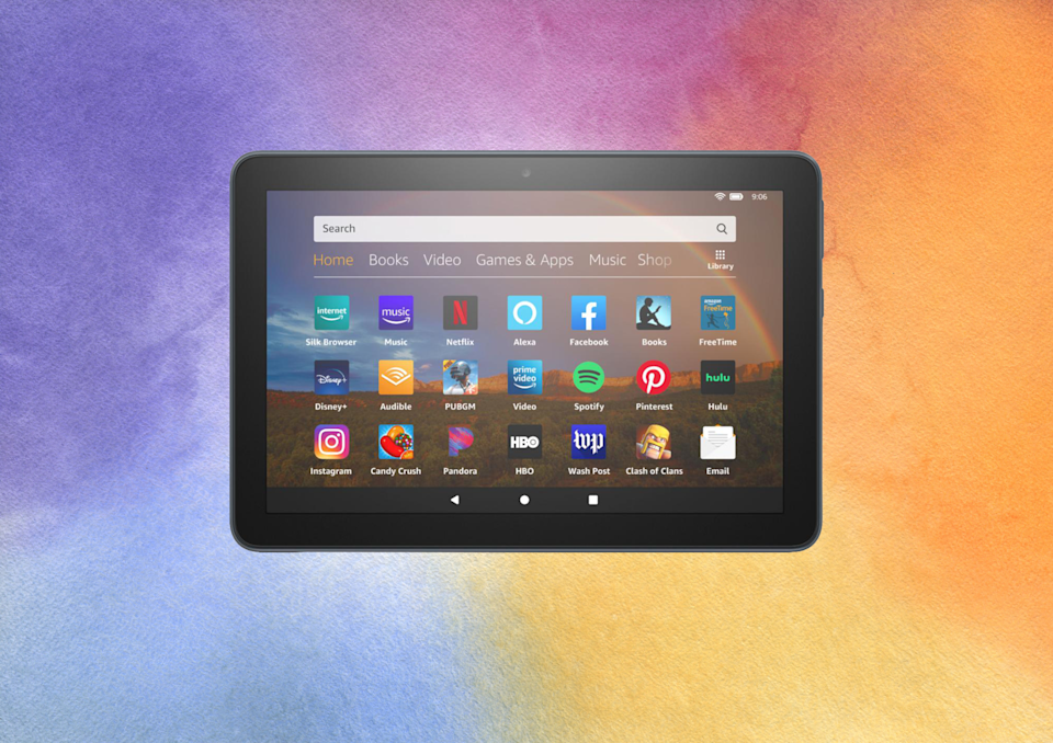 Save 39 percent on this Fire HD 8 tablet. (Photo: Amazon)