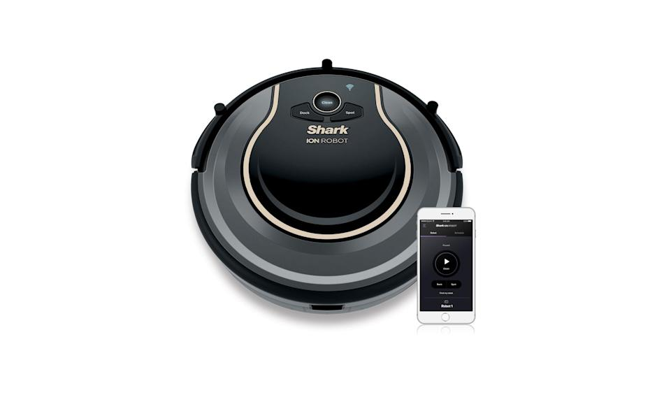 Shark Ion Robot Vacuum Wi-Fi Connected (Photo: Walmart)