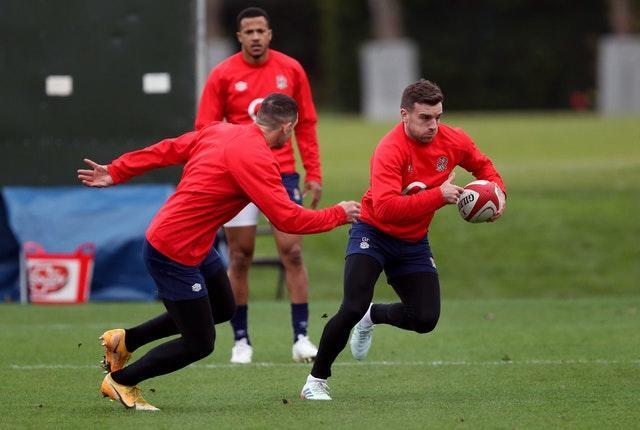George Ford (right) has been restored at fly-half