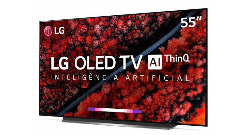 "Smart TV 4K LG OLED AI 55"" Ultra HD"