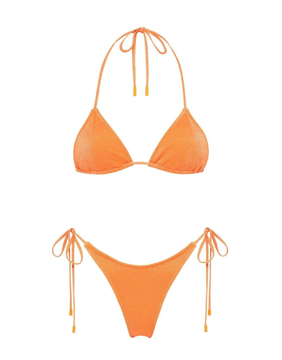 <p><span>Triangl Stevie in Apricot Sparkle</span> ($89)</p>