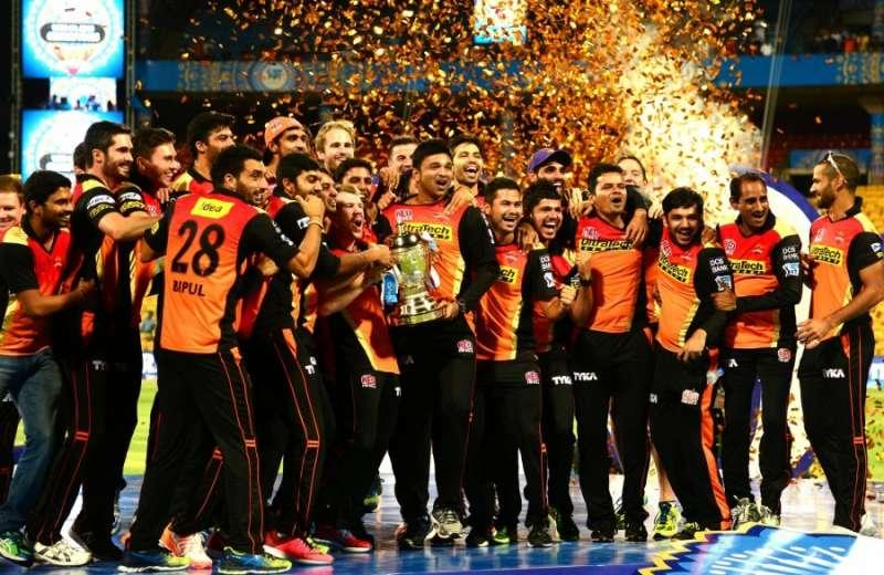 Sunrisers Hyderabad IPL 2016 champions