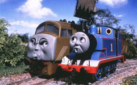 <span>A scene from 'Thomas and the Magic Railroad' from 2000</span> <span>Credit: Reuters </span>