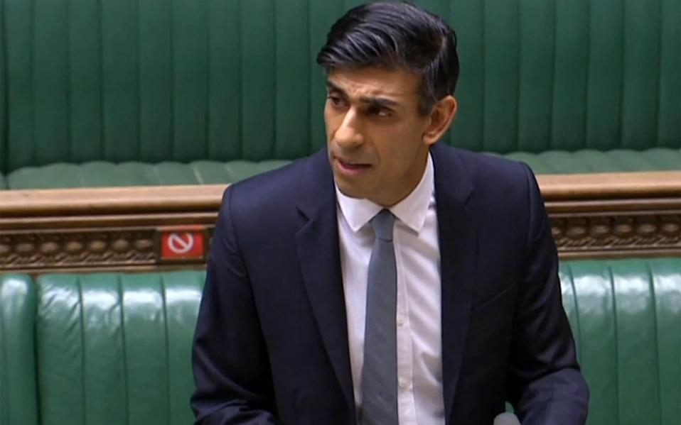 Rishi Sunak's support package totals £407 bn - AFP