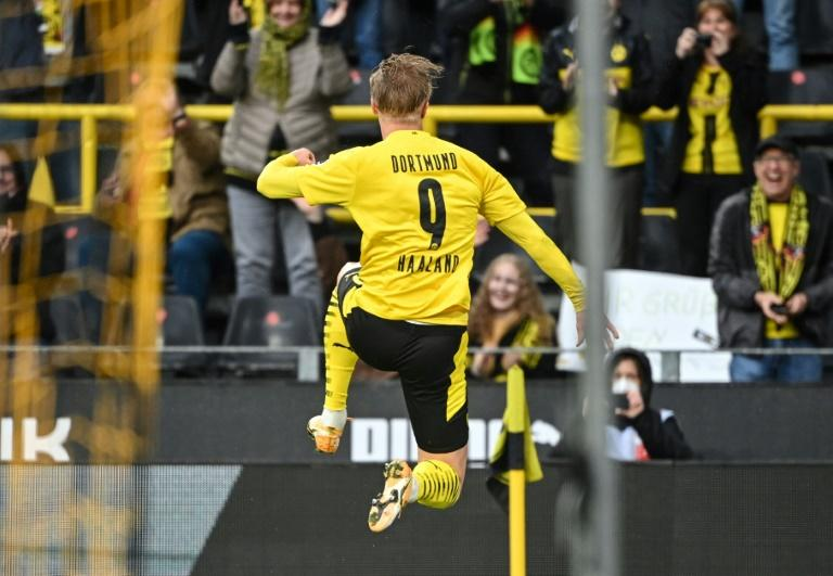 'Ice-cold' Haaland nets twice as Dortmund run riot