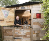 <p>WORKSHOP & STUDIO:<br>The Off-Cut Shed – owned by Mark Humphrys in Great Ellingham, Norfolk (Picture: Shed of the Year) </p>