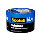 """<p><strong>Scotch</strong></p><p>amazon.com</p><p><strong>$10.59</strong></p><p><a href=""""https://www.amazon.com/dp/B001EJMS4M?tag=syn-yahoo-20&ascsubtag=%5Bartid%7C10055.g.34980843%5Bsrc%7Cyahoo-us"""" rel=""""nofollow noopener"""" target=""""_blank"""" data-ylk=""""slk:Shop Now"""" class=""""link rapid-noclick-resp"""">Shop Now</a></p><p>Amazon's Choice and a number 1 best seller, Scotch Blue Original Multi-Surface painter's tape has earned its share of fans, and with good reason. This medium adhesive crepe paper tape works on a variety of common household surfaces including walls, trim, tile and glass, and <strong>it comes in widths up to 2.83 inches — about an inch more than most other options — and money-saving multi-packs for large projects.</strong><br><br>GHI tests found this tape to be easy to tear off the roll, stick to the wall, and remove, however engineers noticed feathered edges and some bleeding, as well as peeling on delicate surfaces.<br></p>"""