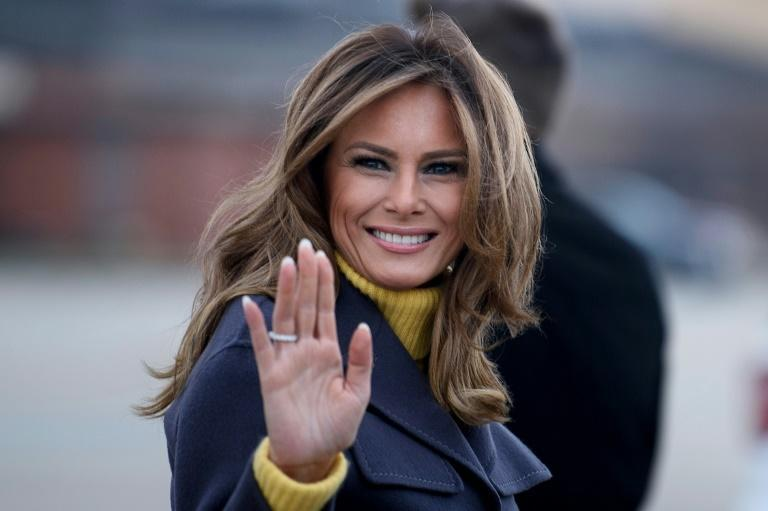 Melania Trump -- seen here in March 2019 -- is the first foreign-born US first lady in two centuries