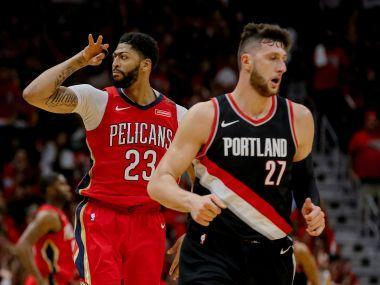 Anthony Davis and Jrue Holiday combined to post one of the greatest duo performances in NBA history as the New Orleans Pelicans beat Portland 131-123 to sweep the Trail Blazers from the playoffs.