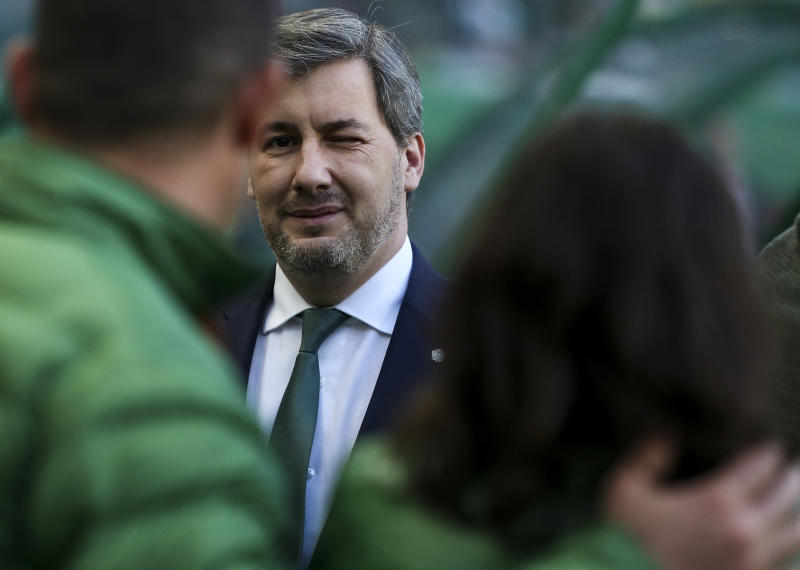 Sporting CP president, players involved in social media spat