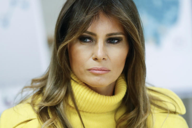 First lady convening tech companies to tackle cyberbullying