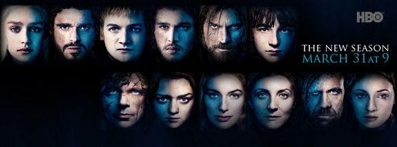 "The third season of HBO's ""Game of Thrones"" premiers Sunday (March 31) night at 9 p.m. EDT. Check local listings."