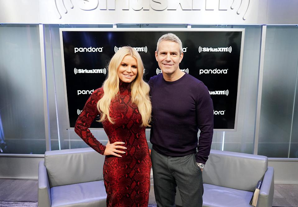 Jessica Simpson told Andy Cohen that ex-husband Nick Lachey and his wife Vanessa didn't send her a gift. (Photo: Cindy Ord/Getty Images for SiriusXM)