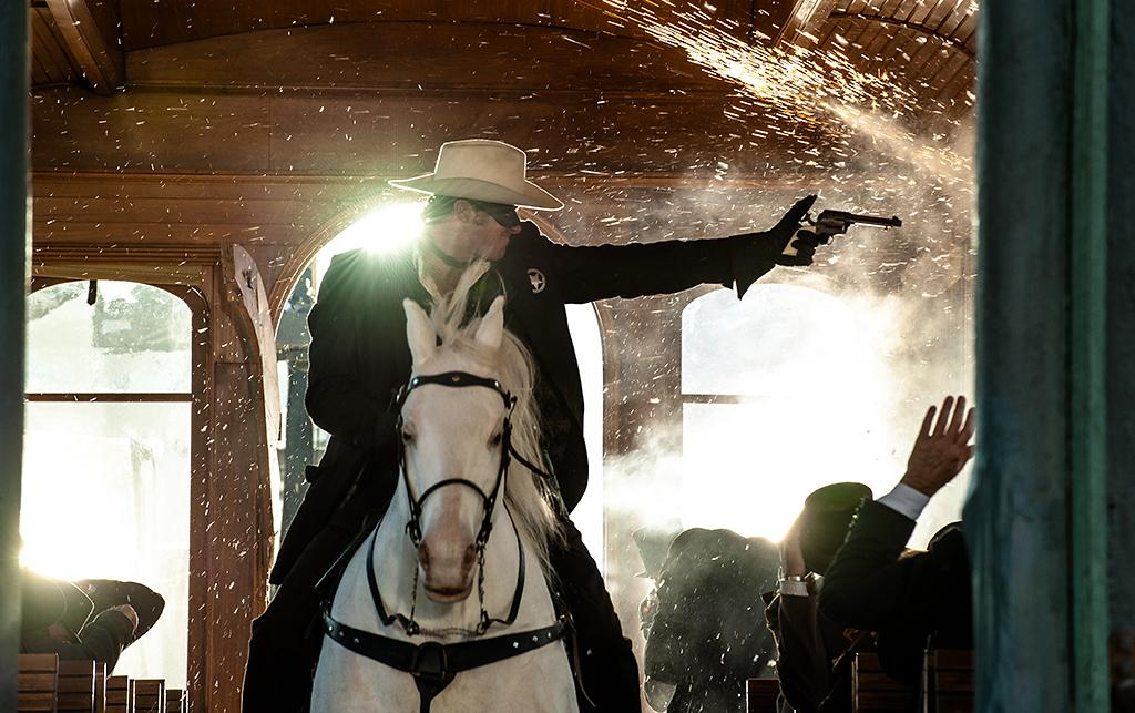 "Armie Hammer in Walt Disney Pictures' ""The Lone Ranger"" - 2013"