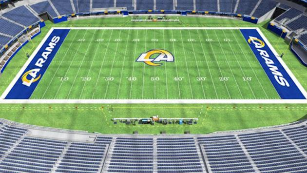 Sofi Stadium New Home Of Los Angeles Rams Chargers Will Begin Inaugural Season Without Fans In Attendance