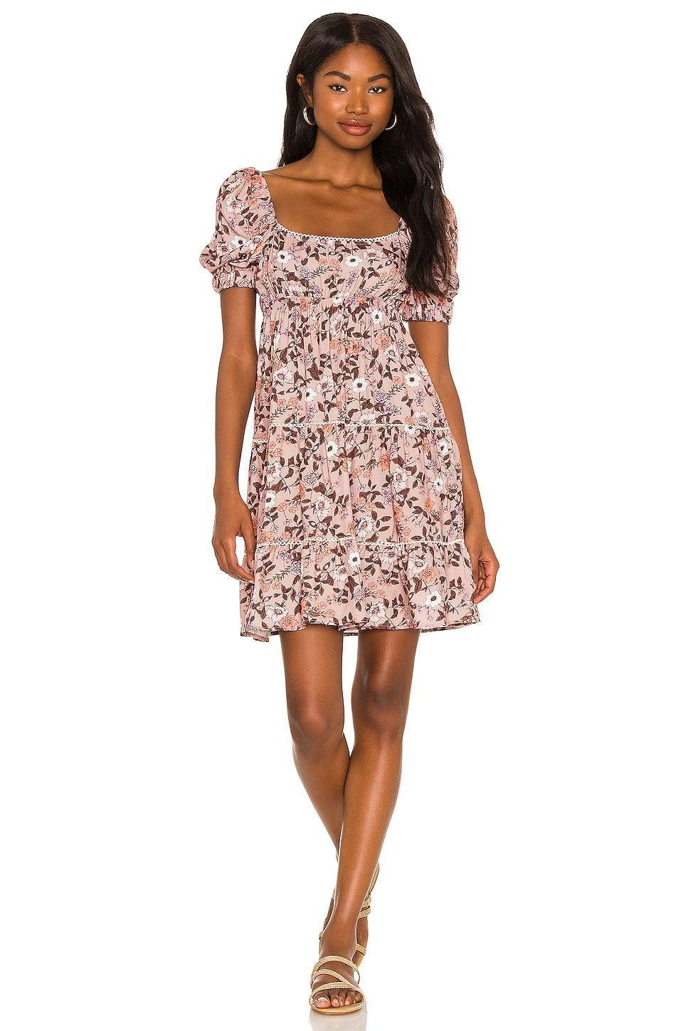 <p>From brunch to the pumkin patch, this <span>Maaji Ditsy Leah Short Dress in Floral </span> ($98) is such a cute find you can wear all year long. Just change up the shoes and add a layer or two to fit the weather. </p>