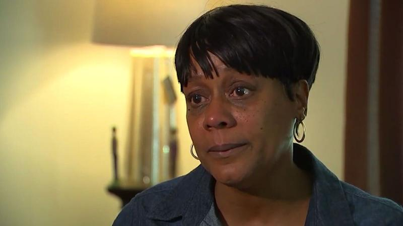 Rosetta Swinney, 53, complained about vomit on her daughter's seat on board a Frontier Airlines flight. She claims a flight attendant wouldn't help or assign a different seat before she was removed from the plane. Source: ABC7