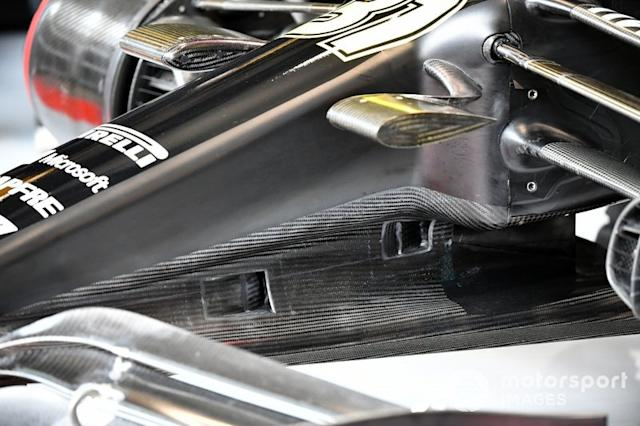 "Detalle del coche de Esteban Ocon, Renault F1 Team R.S.20 <span class=""copyright"">Mark Sutton / Motorsport Images</span>"