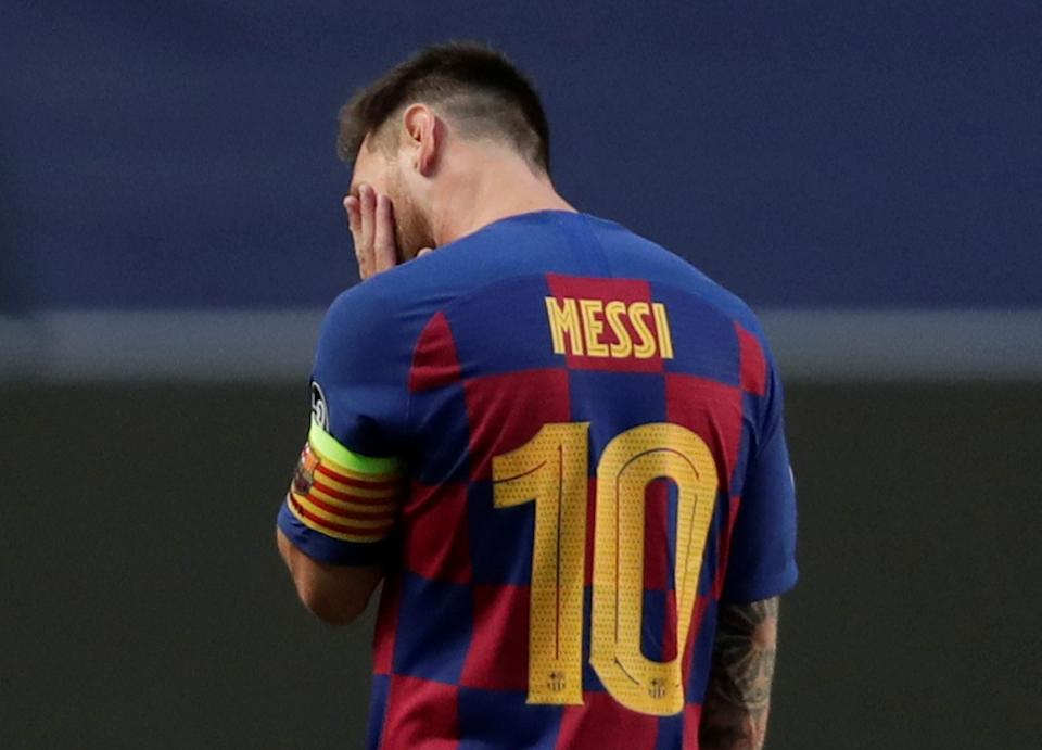 Lionel Messi might find it harder to turn his back on Barcelona after La Liga announced that the terms of his contract remain in force until 2021. (Manu Fernandez/Reuters)