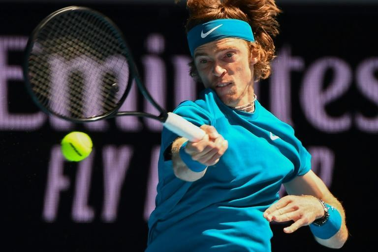 Russia's Andrey Rublev won more tour-level titles than any other player in 2020