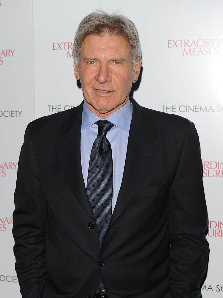 "<a href=""http://movies.yahoo.com/movie/contributor/1800017113"">Harrison Ford</a> at the New York Cinema Society screening of <a href=""http://movies.yahoo.com/movie/1810120879/info"">Extraordinary Measures</a> - 01/21/2010"
