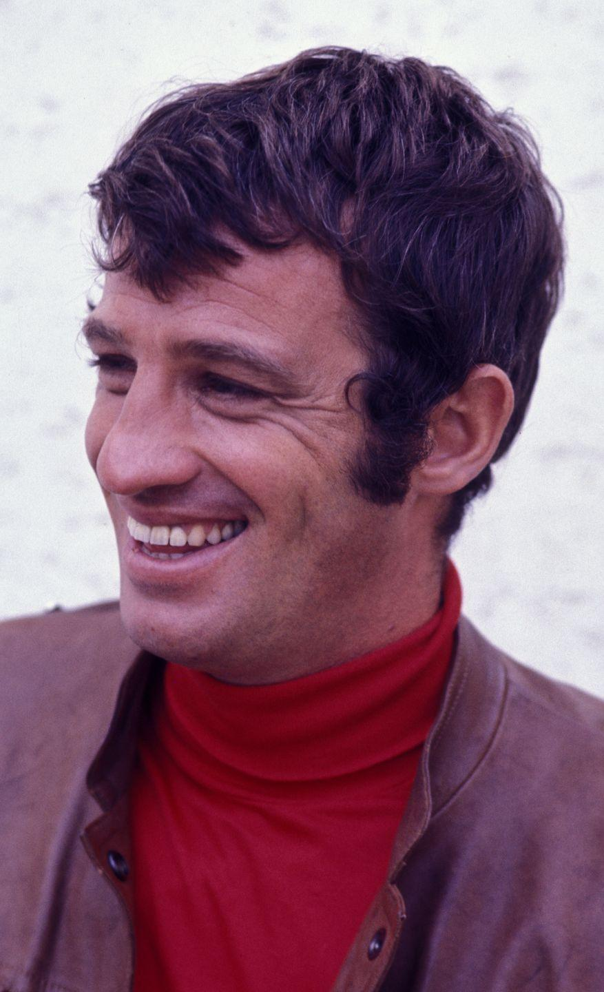 <p>On location filming The Brain in 1968 in Paris, France.</p>