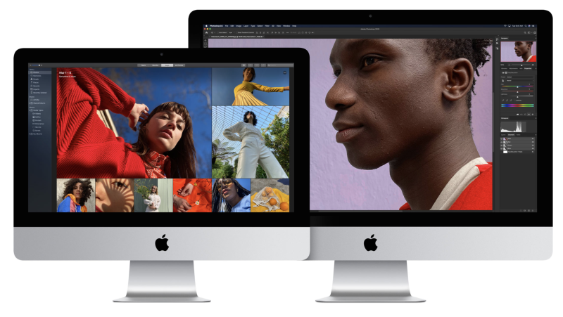 The iMac 27-inch features the same design as the iMac 21.5-inch, but offers a 5K panel and far more performance. (Image: Apple)